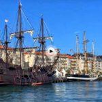 El Festival del Mar visto desde la bahía