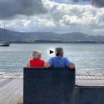 14:25 de la tarde… llega el tercer velero del Festival del Mar