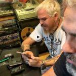 Estuvimos un rato con Jimmy Barnatán durante la grabación de su último disco