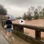 Las inundaciones de estos días bajo la mirada de Javier Rosendo fotógrafo