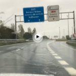 Muchísima precaución: esta cayendo el diluvio en las carreteras de Cantabria