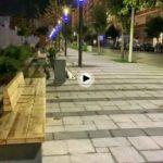 La calle Castilla cambia de imagen… vista nocturna