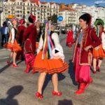 Ucrania está de fiesta junto a la bahía de Santander