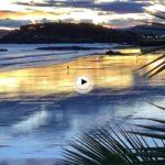 A pie de playa en el Sardinero… amanece