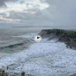 El temporal visto desde Mataleñas