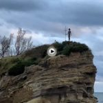 La roca del niño Neptuno