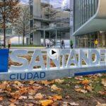 Las letras de Santander ya están en el centro de la ciudad. Fotografíate con  la palabra Santander y el Centro Botín de fondo