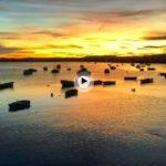 Ver amanecer en cualquier rincón de la bahía es puro espectáculo
