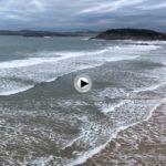 El Sardinero con un poquito menos de mar