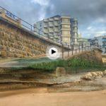 Lo que nos deja al descubierto las mareas en la segunda playa del Sardinero