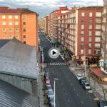 #Quedateencasa… y desde casa hemos hecho hoy este vídeo a las 7:40 de la mañana en un Santander sin tráfico en sus calles