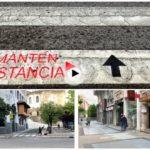 Domingo 7:45 de la mañana y esto es lo que nos hemos encontrado en las calles de Santander