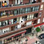 Día 50 Gente en las calles y aplauso en los balcones…