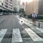 Te mostramos el tramo completo del nuevo carril bici que recorre la avenida de Reina Victoria