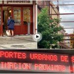 Lo que te encuentras por las calles de Santander un domingo a las 7:45 de la mañana