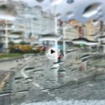 En Puertochico bajo la lluvia en este comienzo de semana
