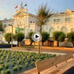 La zona de la plaza de Italia abierta al público a ras de calle… así la hemos visto este lunes