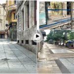 Centro de Santander… 1 de agosto a las 8:30 de la mañana… ¿Dónde se esconden los santanderinos?