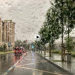 Así se despierta este domingo Santander… bajo la lluvia