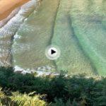 Esas aguas cristalinas de la playa de Mataleñas que te dejan sin palabras