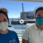 Nuria y Monica nos cuentan hasta cuando están en servicio las lanchas del Puntal
