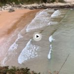 61 segundos en la playa de Mataleñas