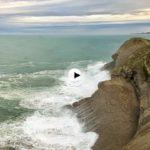 La marejada en las Lastras de Cabo Mayor