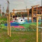 Así ha quedado la nueva zona de ocio y de recreo del barrio Pesquero inaugurada ayer