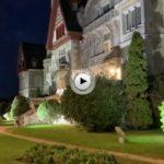 Un paseo nocturno por los alrededores del palacio de la Magdalena