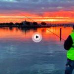 Un amanecer de sábado con muchos pescadores en este rincón de la bahía