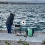 Dar la bienvenida al lunes pescando cachones
