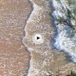 Despertar en la playa de Mataleñas en un día que promete