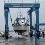 Barco a tierra