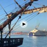 El galeón Andalucía ha vuelto a Santander